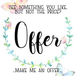 🌻Always OPEN to OFFERS🌻